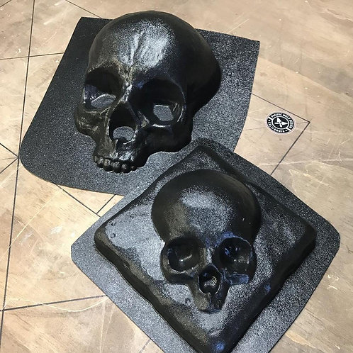 Skull Mold Set - Succulent Skull + Tile Skull