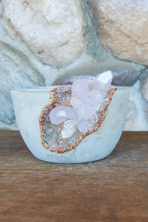 (#509) Ballerina LUXE Crystal Geode - Sm*pot curved