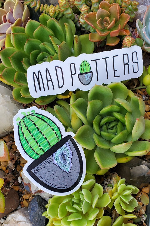 MADPOTTERS Stickers