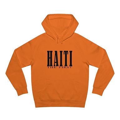 """Haiti the first"" unisex hoodie"
