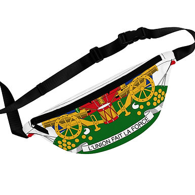 Coat of Arms - Fanny Pack (white)