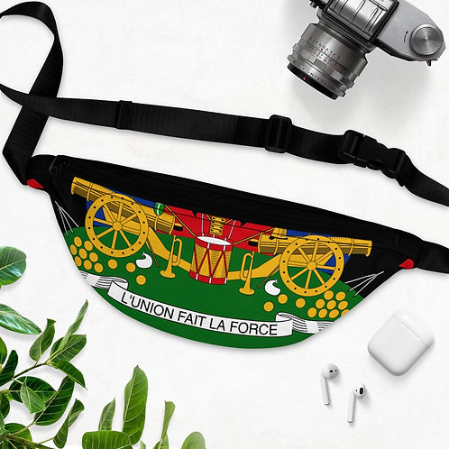 Coat of Arms - Fanny Pack (Black)