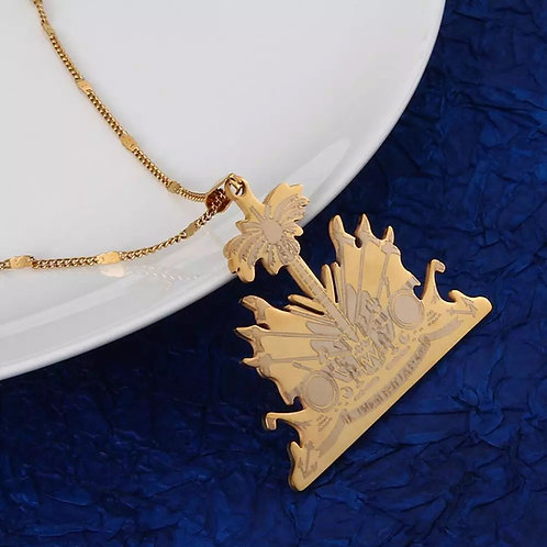 Coat of Arms - Gold Necklace