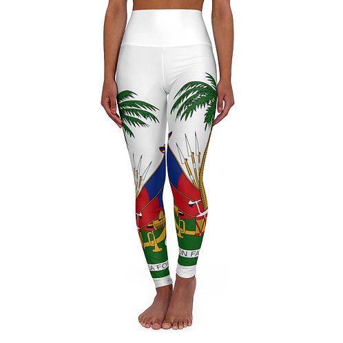 High Waisted Coat of Arms  Leggings