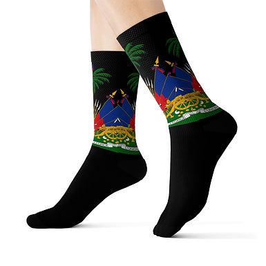 Coat of Arms - Socks (black)