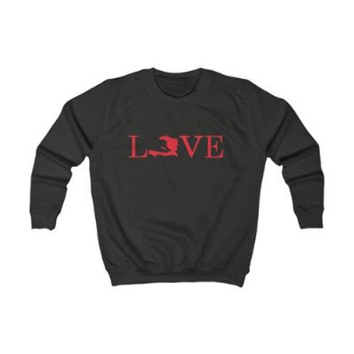 Love Haiti ( Kids sweatshirt )