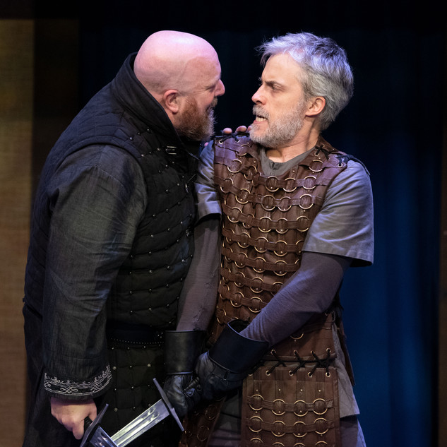 Macbeth and Macduff - final fight