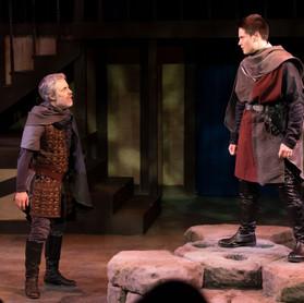 Macduff and Malcolm rally