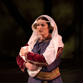 Lady Macduff: Sirrah, your father's dead