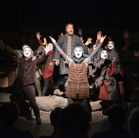 Macbeth with Witches Chorus