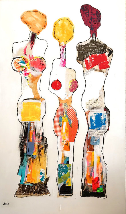 """"""" Strong family """" 195x114 cm"""