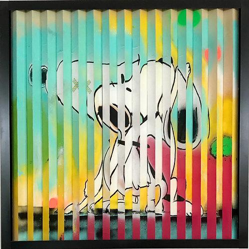 """Snoopy"" 80x82 cm"