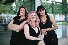 Sara, Tina, and Rachelle