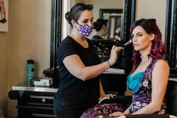 dallas wedding makeup artist bride hair
