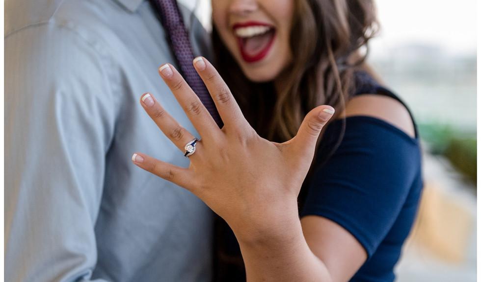 dallas wedding engagement proposal planning tina dannel bride groom couple