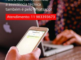 Agora a Netter está fazendo atendimento por Whatsapp.