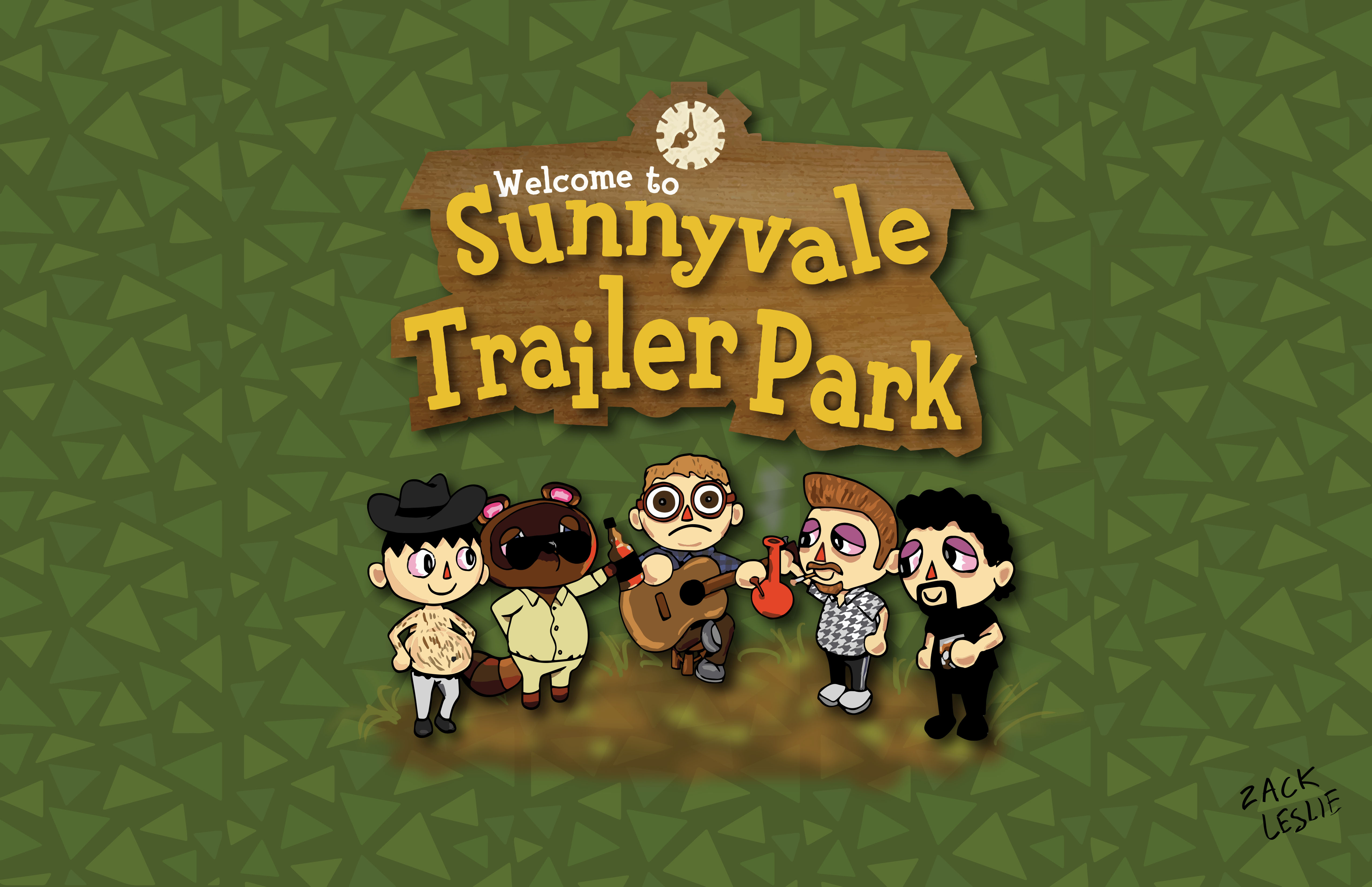 WELCOME TO SUNNYVALE TRAILER PARK