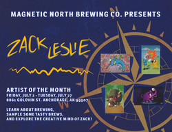 MAGNETIC NORTH BREWING CO AD