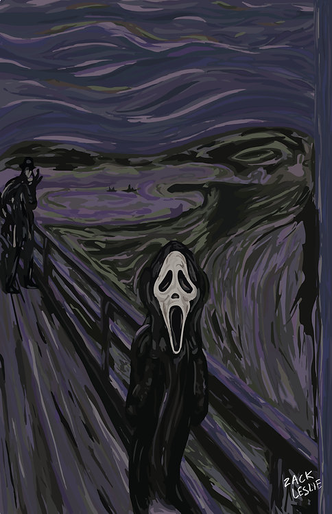 THE SCREAM (PRINT)