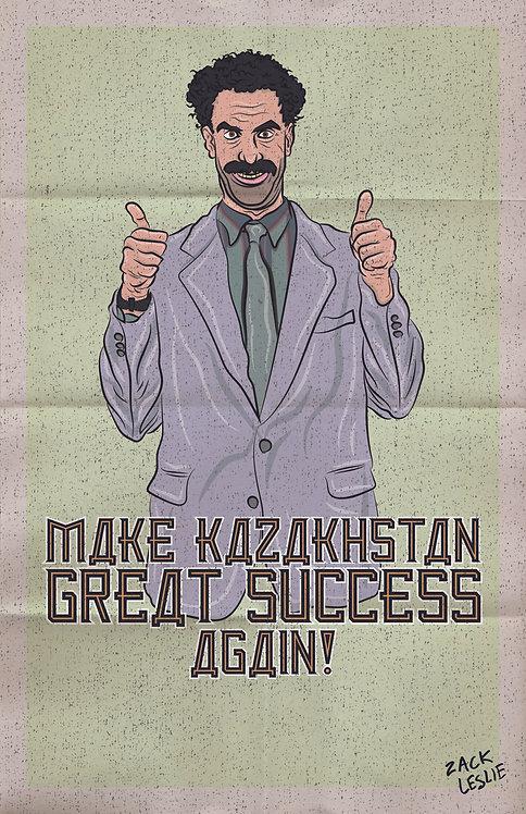 Make Kazakhstan Great Success Again! (MAGNET)