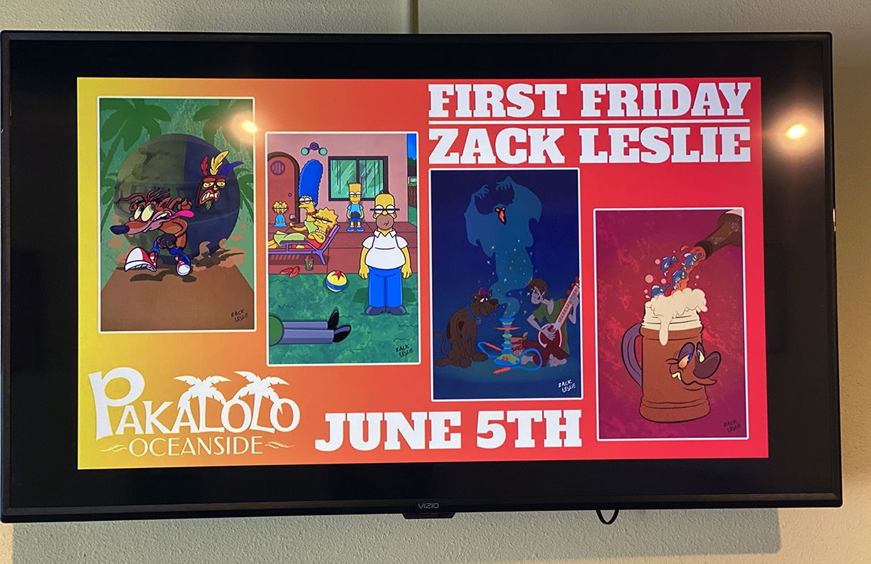 PAKALOLO FIRST FRIDAY DISPLAY
