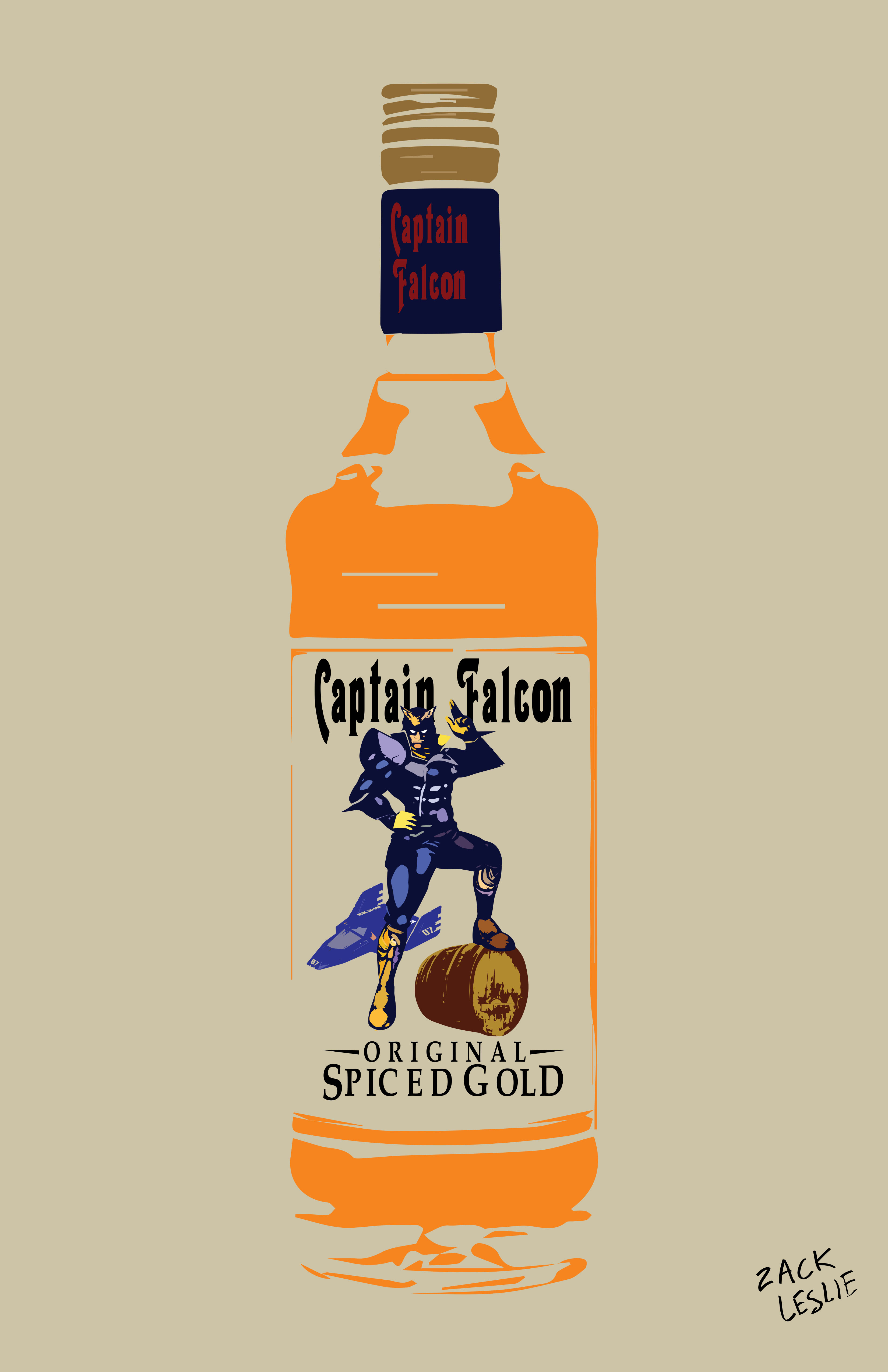 CAPTAIN FALCON RUM