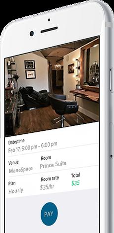 manespace app, manespace, salon suite, salon suites