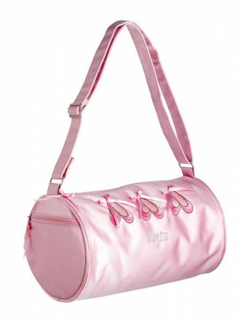 Katz Pink Ballet Shoes Barrel Bag