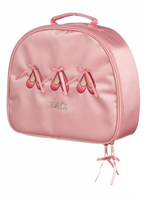 Pink Satin Ballet Shoe Case