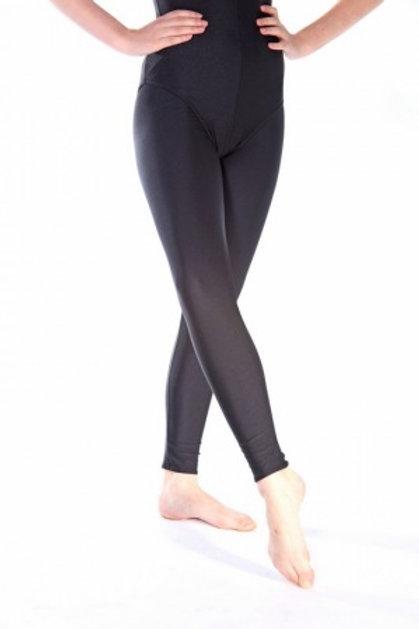 Black Nylon Lycra Leggings