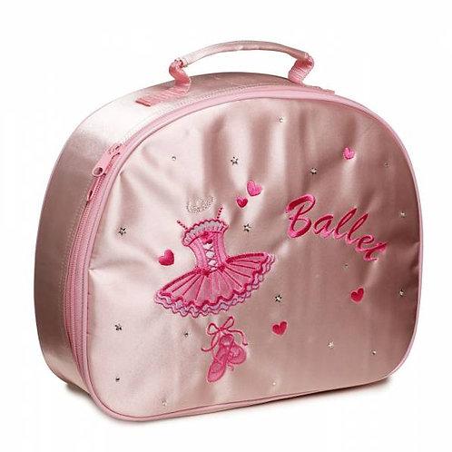 Pink Satin Tutu Ballerina Case