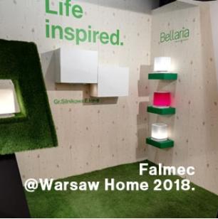 פאלמק מציגה בתערוכת WARSAW HOME אוקטובר 2018, פולין