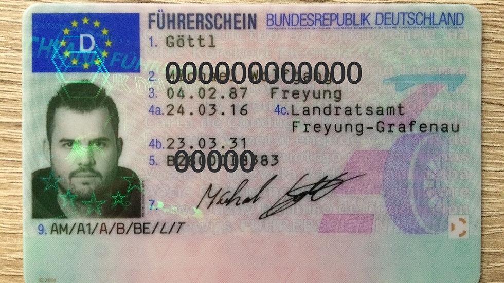 Buy German Driving License