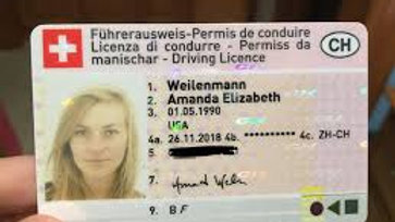 Buy Switzerland Driving License