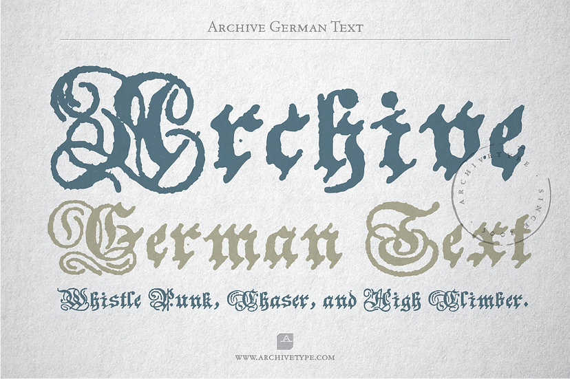 Archive German Text