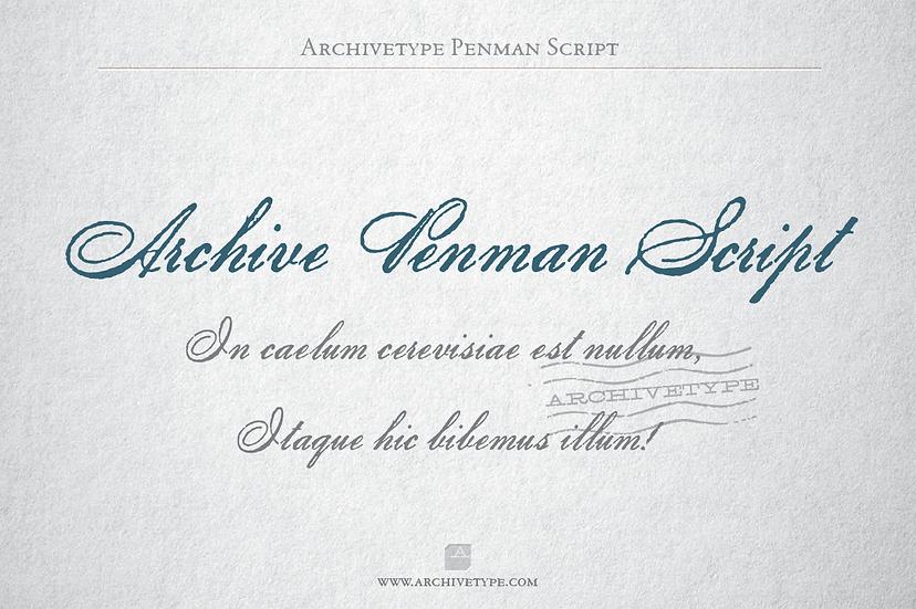 Archive Penman Script