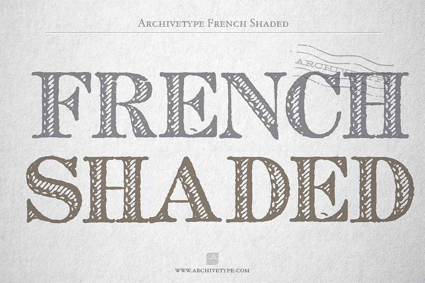 Archive French Shaded