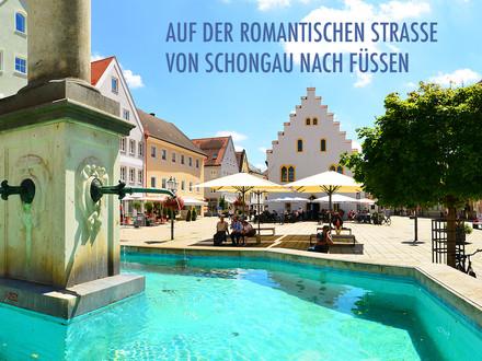 Auf der Romantischen Straße Abschnitt 7 – Von Schongau nach Füssen