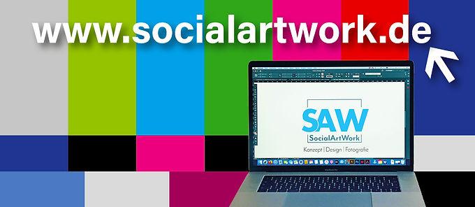 Titelbild Social Artwork GmbH mit Domain