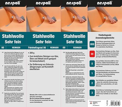 Verpackung Stahlwollle Nespoli Group Germany