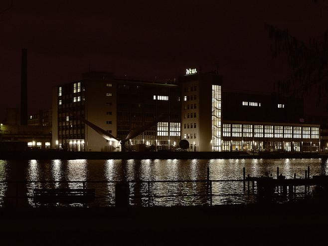 Hochschule HTW Nacht Berlin-Oberschöneweide