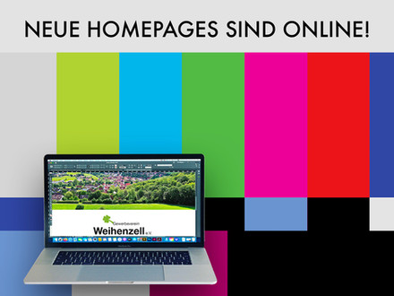 Neue Homepages