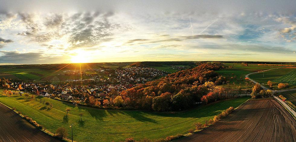 Panorama Gemeinde Weihenzell