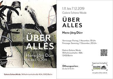 Karte Galerie Schöne Weide, Dürr - Über alles