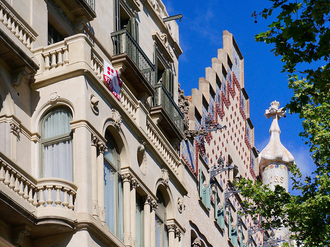 Haus Antoni Gaudi Barcelona