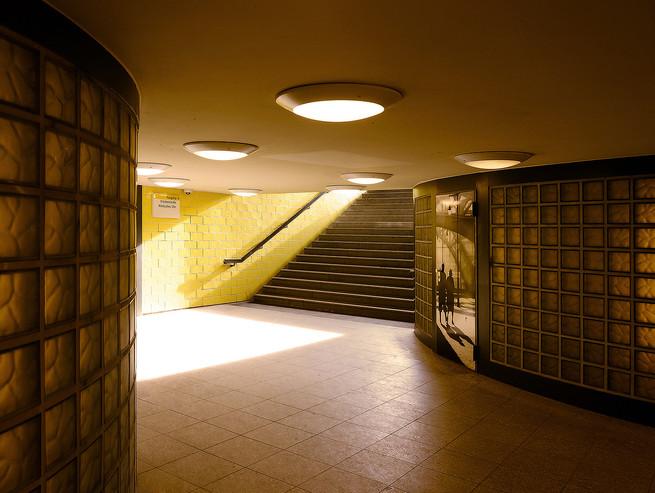 U-Bahn Aufgang Berlin