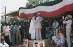 inauguration du jumelage 1980