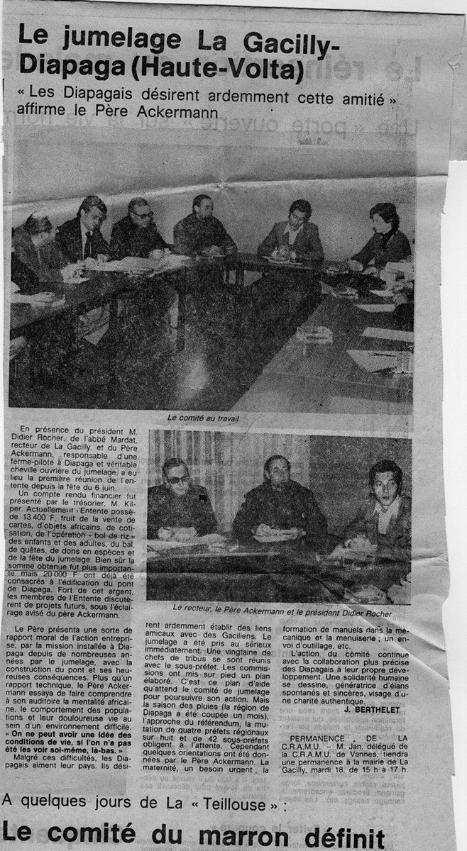 coupure de presse 1977