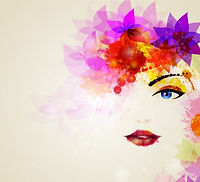watercolor-woman-face-with-flowers-hair_