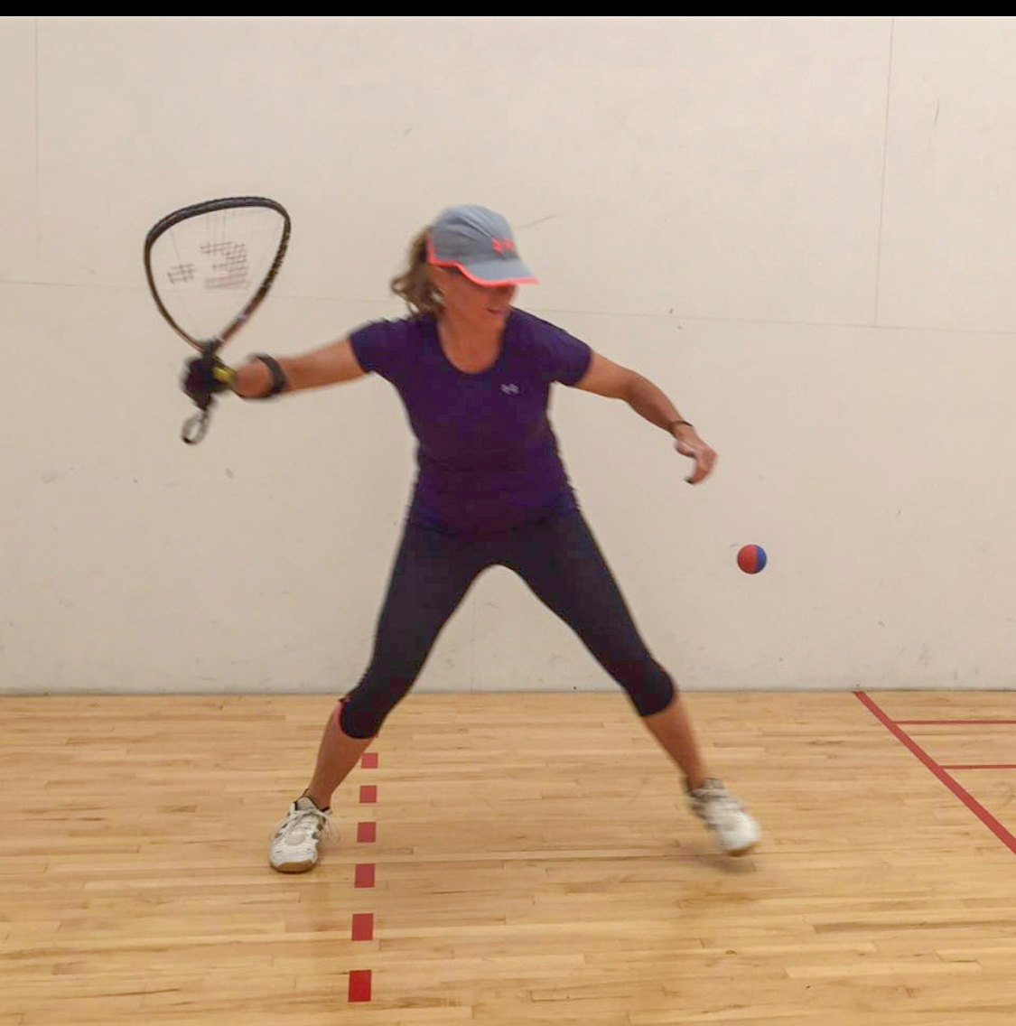 Playing Racquetball
